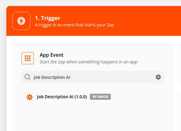 Zapier new app