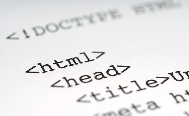 supported html elements by Google For Jobs