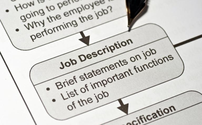 proper job description